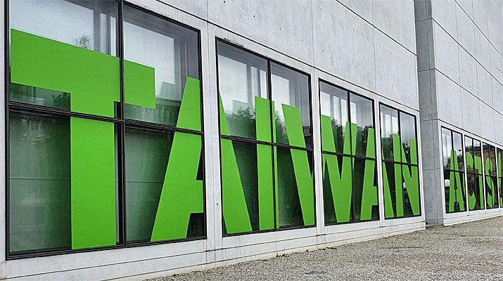 """Ausstellung """"Taiwan Acts!"""" im Architekturmuseum der TUM in der Pinakothek der Moderne in München"""
