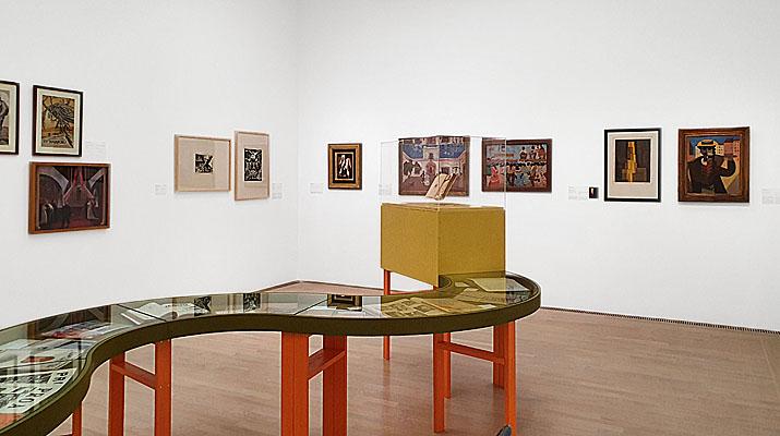 """Ausstellung """"Gruppendynamik. Kollektive der Moderne"""" im Lenbachhaus in München"""